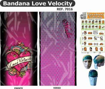 BANDANA MUHU LOVE VELOCITY