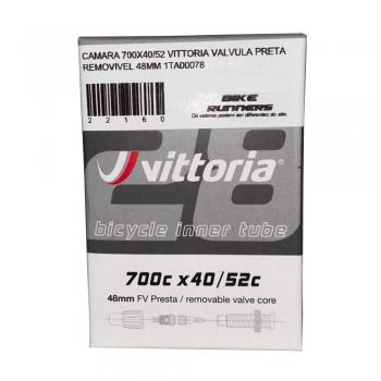 CAMARA 700X40/52 VITTORIA VALVULA PRESTA REMOVIVEL 48MM 1TA00078