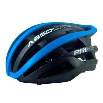 Capacete Absolute Prime Preto e Azul In Mold Ciclismo