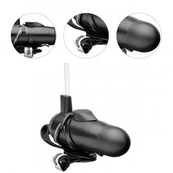 Caramanhola Profile Design Preto para Clip Aero Hc Hydration System com Suporte GPS