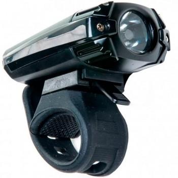 FAROL DIANTEIRO ABSOLUTE JY-7028 PRETO LED CARGA VIA USB - ISP
