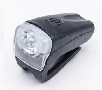 FAROL DIANTEIRO ABSOLUTE SILICONE PRETO 1 LED RECARREGA VIA USB - ISP
