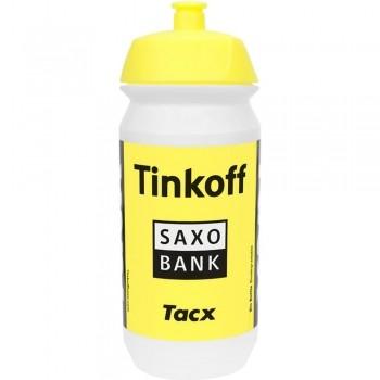 GARRAFA TACX SHIVA PRO TEAM TINKOFF-SAXO AMARELA 500ML