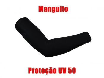MANGUITO BEFAST PRETO CICLISMO FPS 50