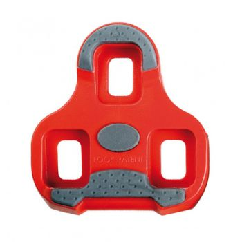 TACO PEDAL SPEED LOOK KEO GRIP VERMELHO FLOAT 9º