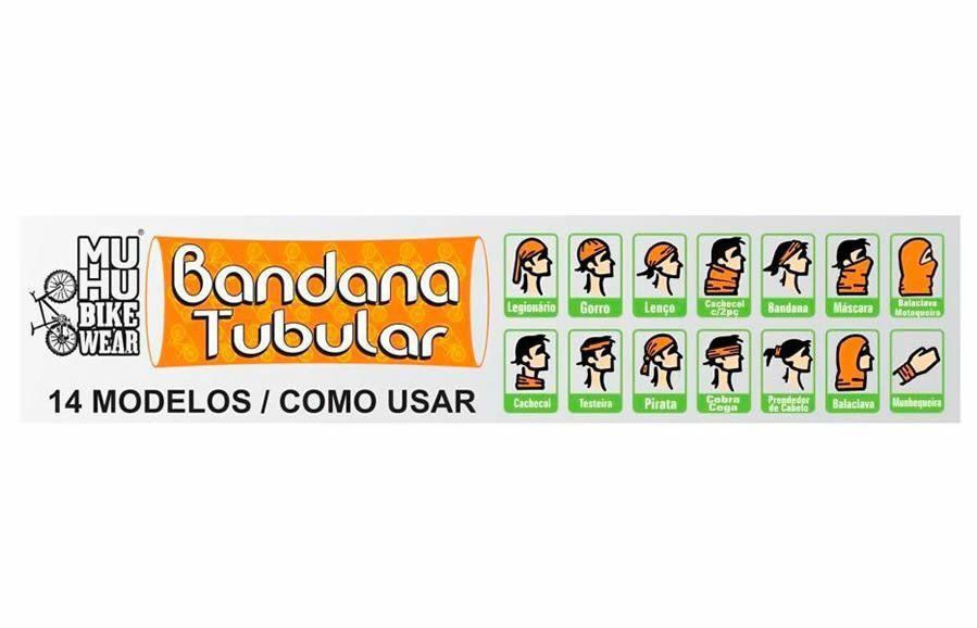 BANDANA MUHU CORRENTE CORACAO ESTILO 1