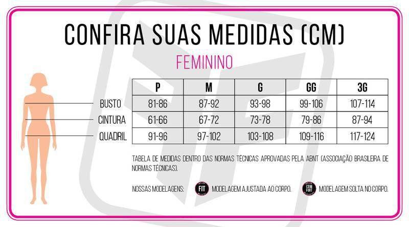 BERMUDA FREEFORCE FEMININA QUEEN PRETA