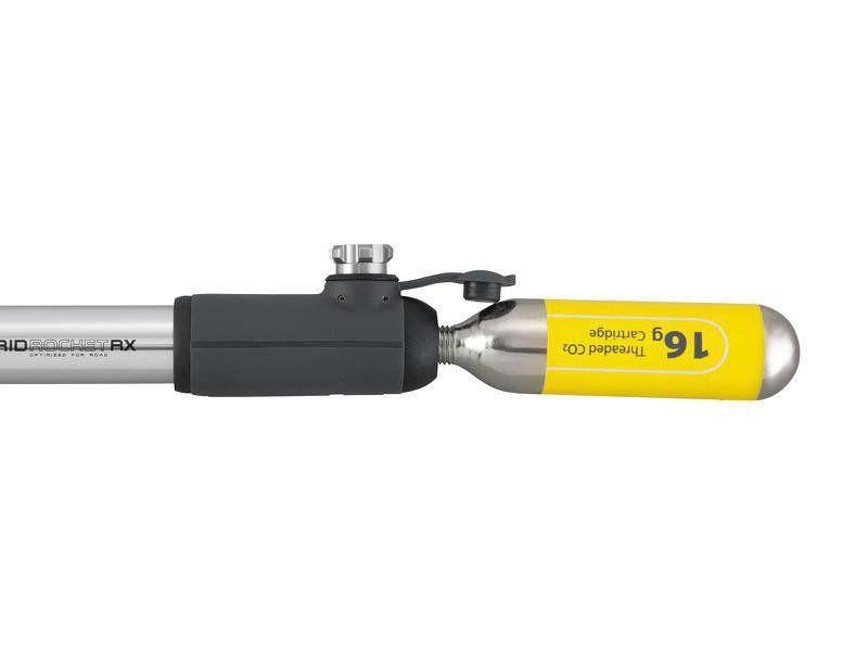 BOMBA TOPEAK HYBRIDROCKET RX COM INFLADOR DE CO2 (A AR OU CO2)