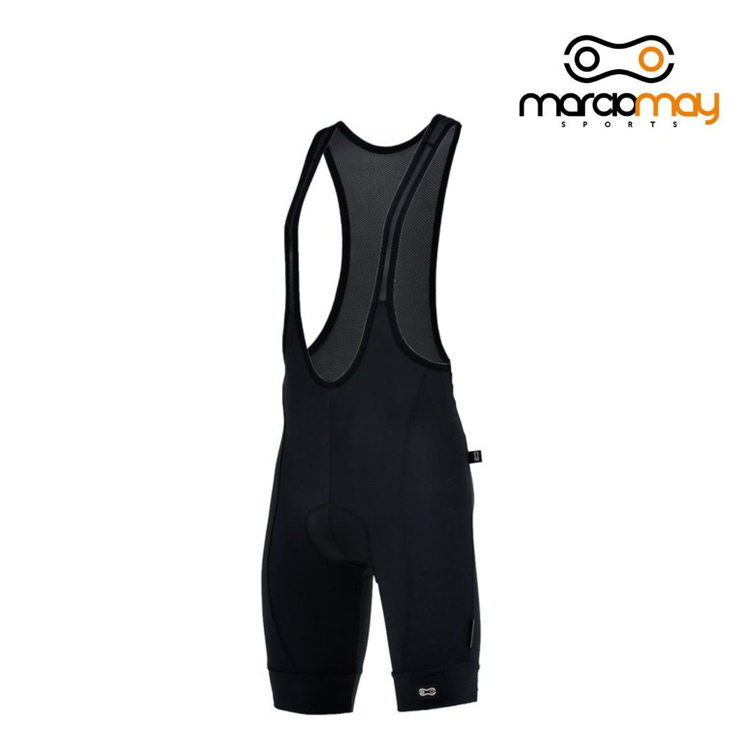 BRETELLE MARCIO MAY MASCULINO LIGHT PRETO CICLISMO 19