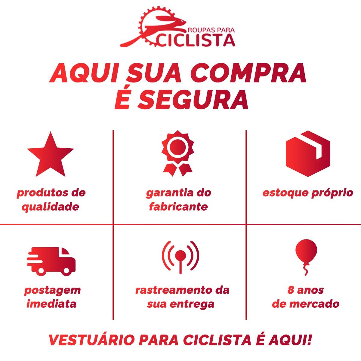 CALCA BRETELLE FLETS MASCULINA BASIC COMPRESSION PRETO COM F ESTANHO NEW CICLISMO