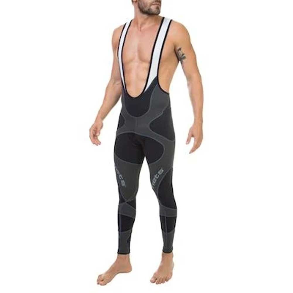 CALCA BRETELLE FLETS MASCULINO X3X ULTRA COMPRESSION PRETA