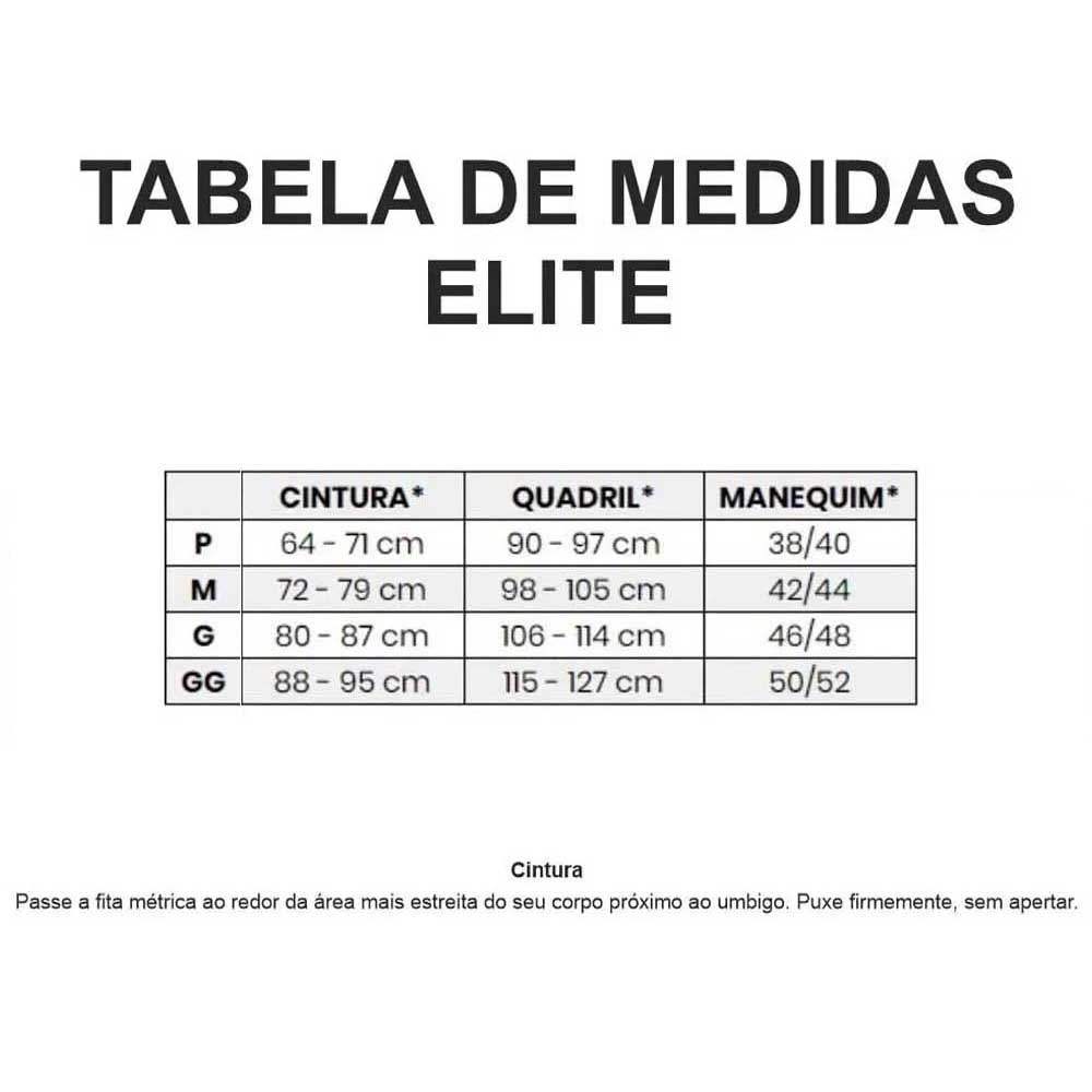 CALCA ELITE MASCULINA TOP CICLISMO PRETA 21