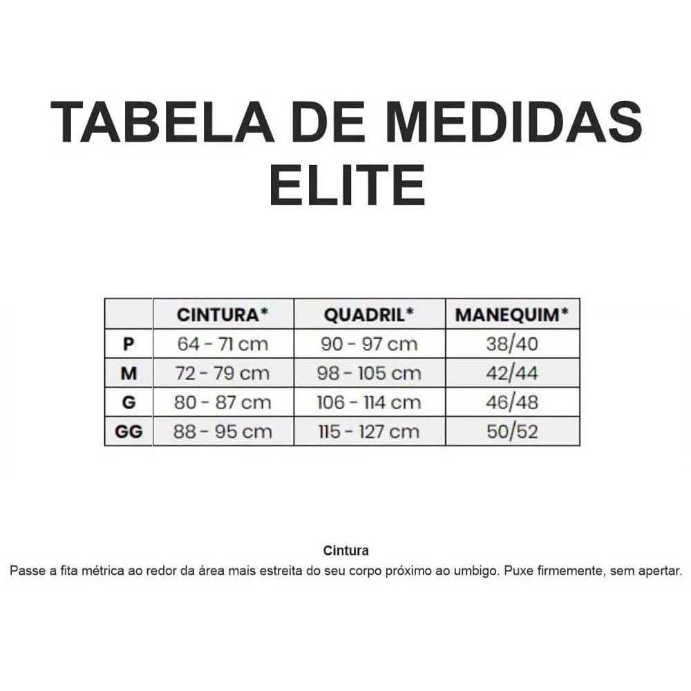 CALCA ELITE MASCULINA TOP CICLISMO PRETA COM BOLSO 21