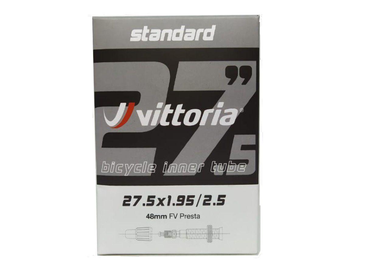 CAMARA 27.5X1.95/2.50 VITTORIA VALVULA PRESTA 48MM (1TA00032)