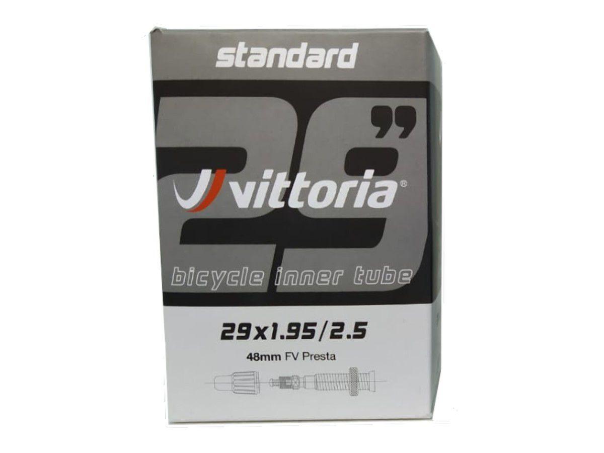 CAMARA 29X1.95/2.50 VITTORIA VALVULA PRESTA 48MM (1TA00038)