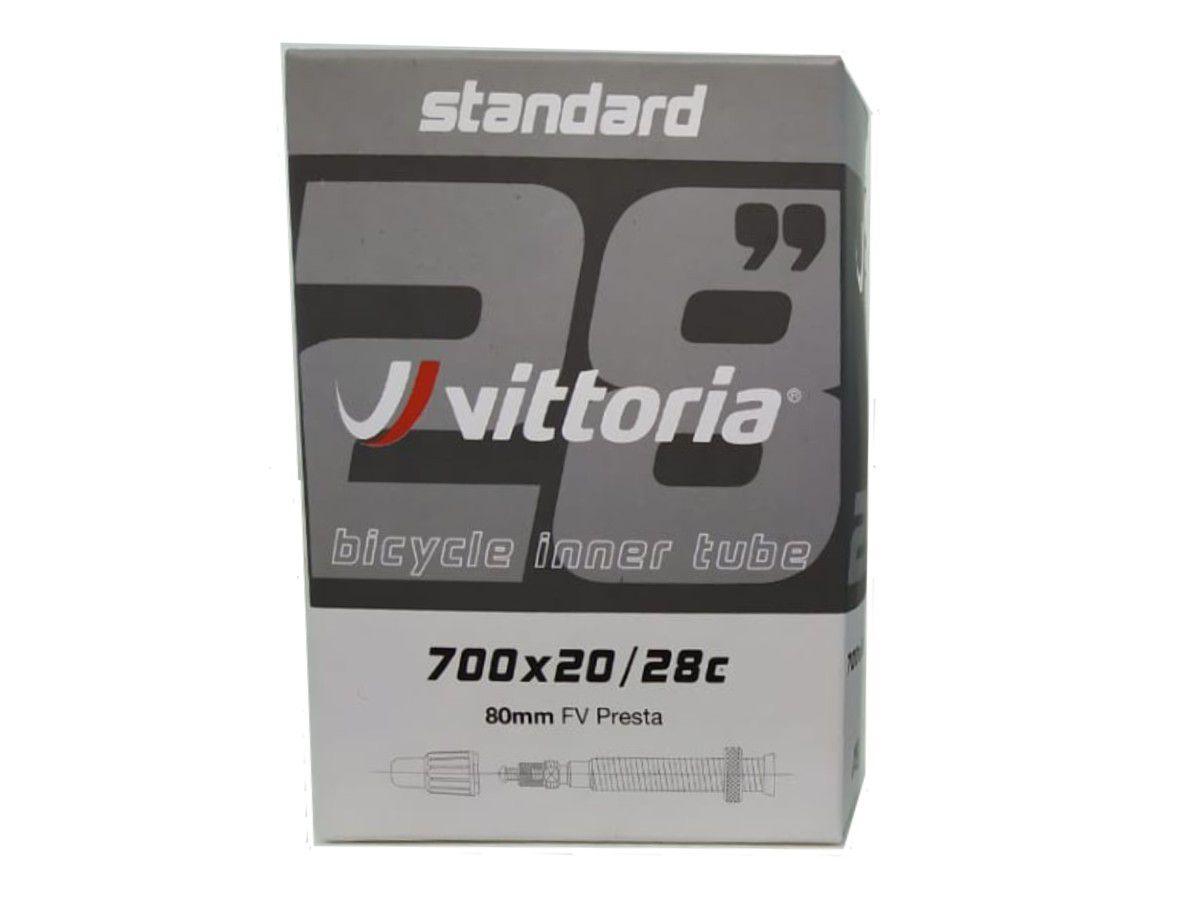 CAMARA 700X20/28C VITTORIA VALVULA PRESTA 80MM (1TA00012)