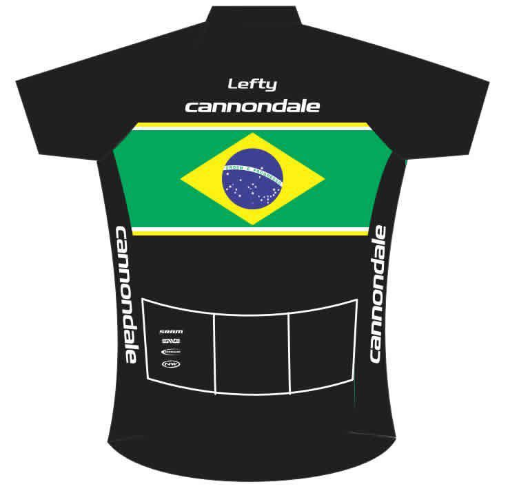 CAMISA BEFAST CANNONDALE BRASIL PRETA