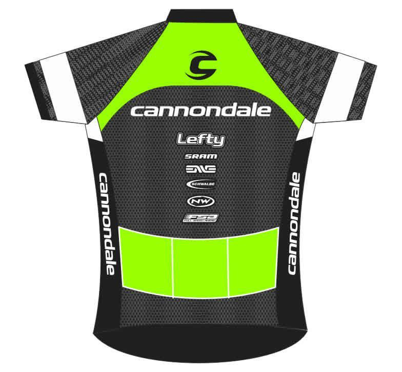 CAMISA BEFAST CANNONDALE LEFTY PRETA E VERDE