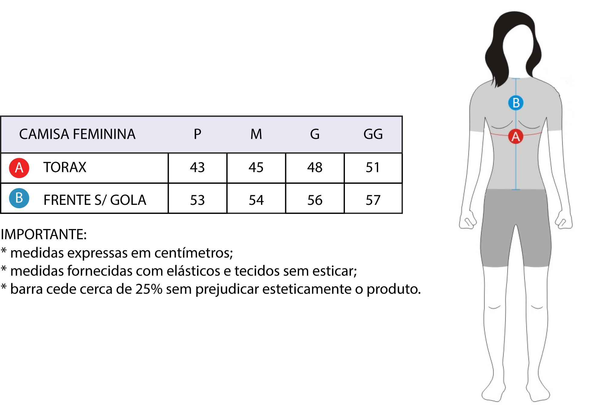 CAMISA FREEFORCE FEMININA STAGE PRETA E ROSA (MODELAGEM FIT) !