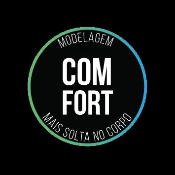 CAMISA FREEFORCE FIRST PRETA E CINZA MESCLA