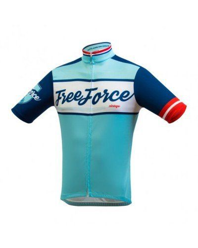 CAMISA FREEFORCE OLD SCHOOL AZUL TURQUESA !