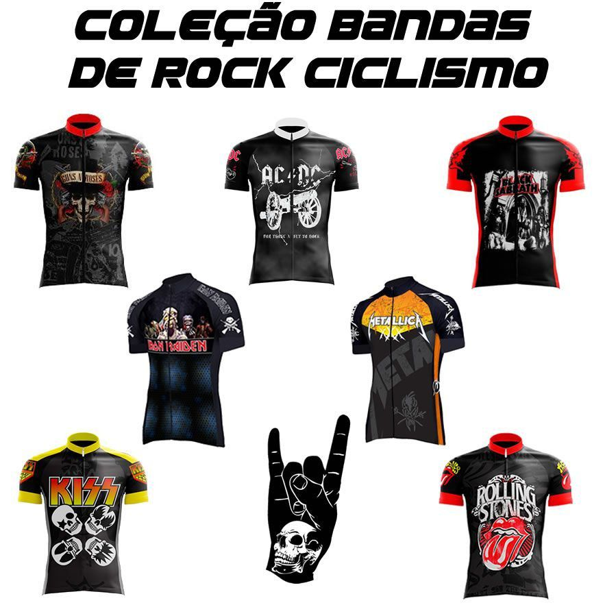 CAMISA ROLLING STONES CICLISMO