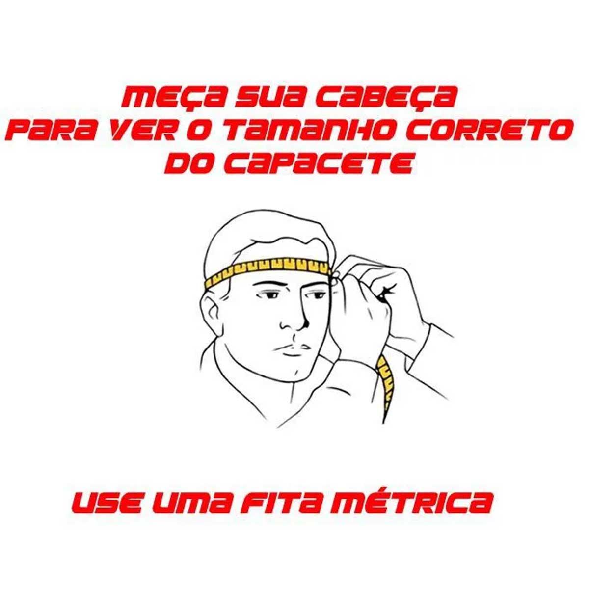 CAPACETE ABSOLUTE WILD PRETO E BRANCO FOSCO IN-MOLD COM LED TAMANHO ÚNICO M/G (58-61CM) - ISP
