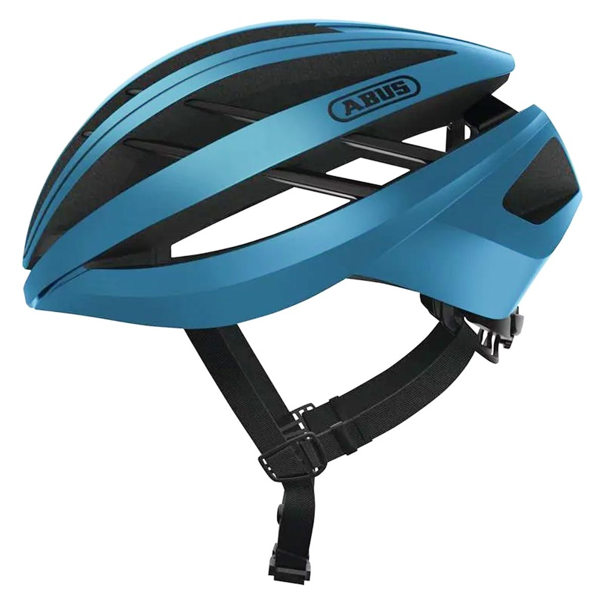 Capacete Abus Aventor Azul Fosco Ciclismo Bike