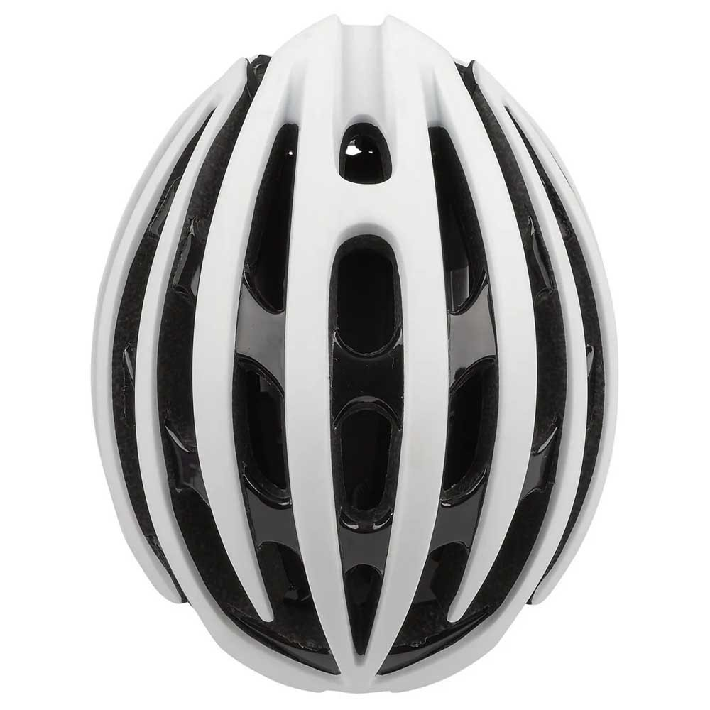 CAPACETE POLISPORT LIGHT ROAD BRANCO E PRETO IN-MOLD SPEED E MTB