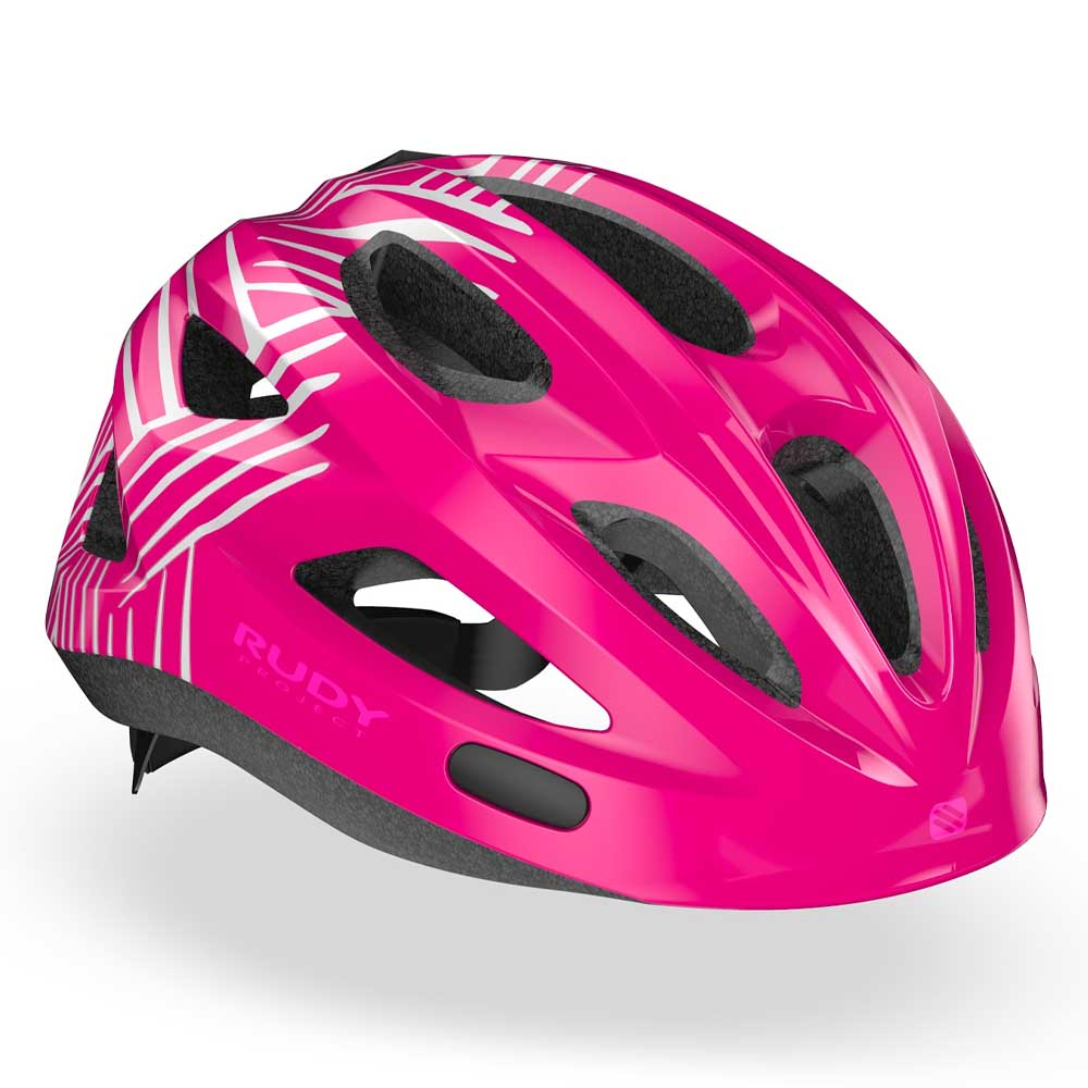 CAPACETE RUDY PROJECT ROCKY JUVENIL ROSA SHOK IN MOLD 21