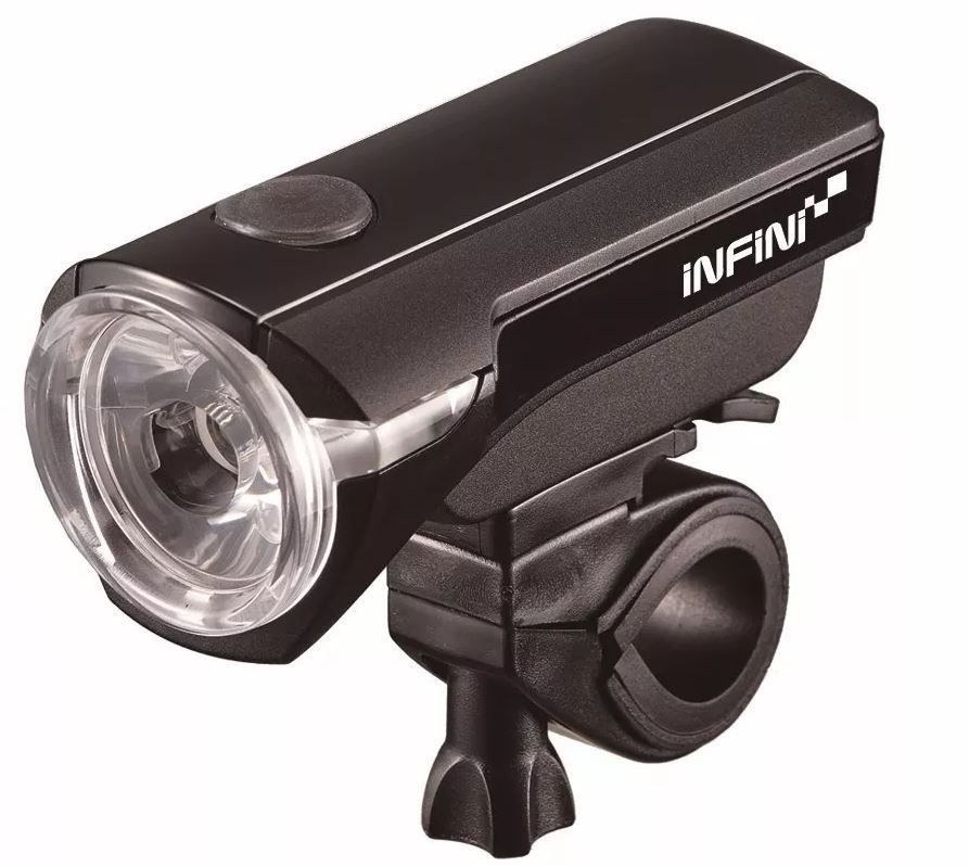 FAROL DIANTEIRO INFINI I320P SATURN PRETO 150 LUMENS LED BRANCO