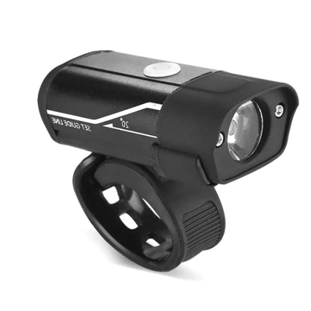 FAROL DIANTEIRO KAVE LED XPG 400 ALUMINIO 400 LUMENS CARGA VIA USB
