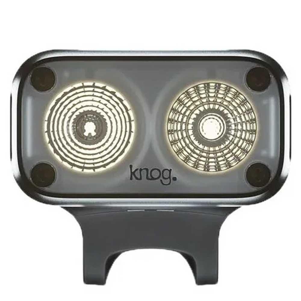 FAROL DIANTEIRO KNOG BLINDER ROAD 400 LUMENS PRETA CARREGA VIA USB