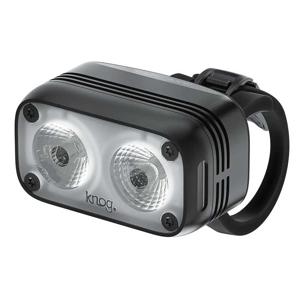 FAROL DIANTEIRO KNOG BLINDER ROAD 600 LUMENS PRETA CARREGA VIA USB