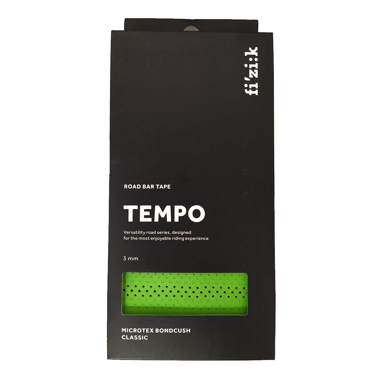 FITA DE GUIDAO FIZIK TEMPO BONDCUSH CLASSIC MACIA VERDE 3MM SPEED