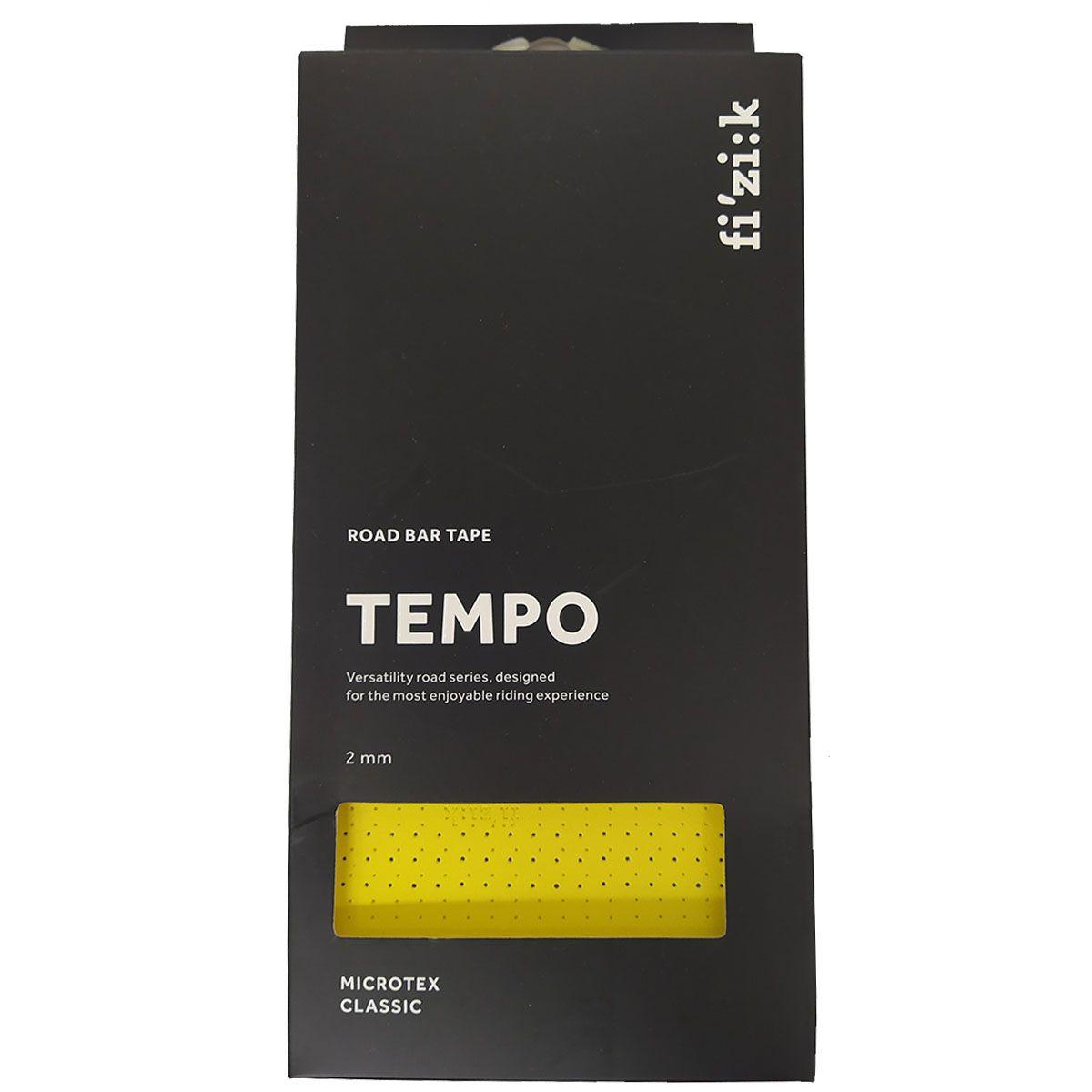 FITA DE GUIDAO FIZIK TEMPO CLASSIC AMARELA 2MM  SPEED