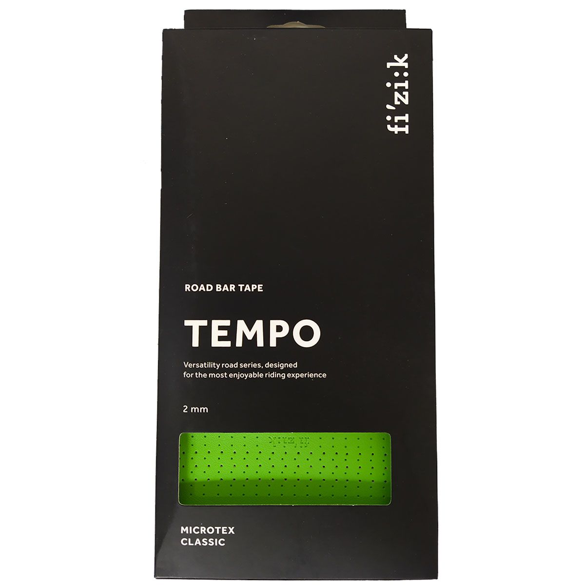 FITA DE GUIDAO FIZIK TEMPO CLASSIC VERDE 2MM SPEED