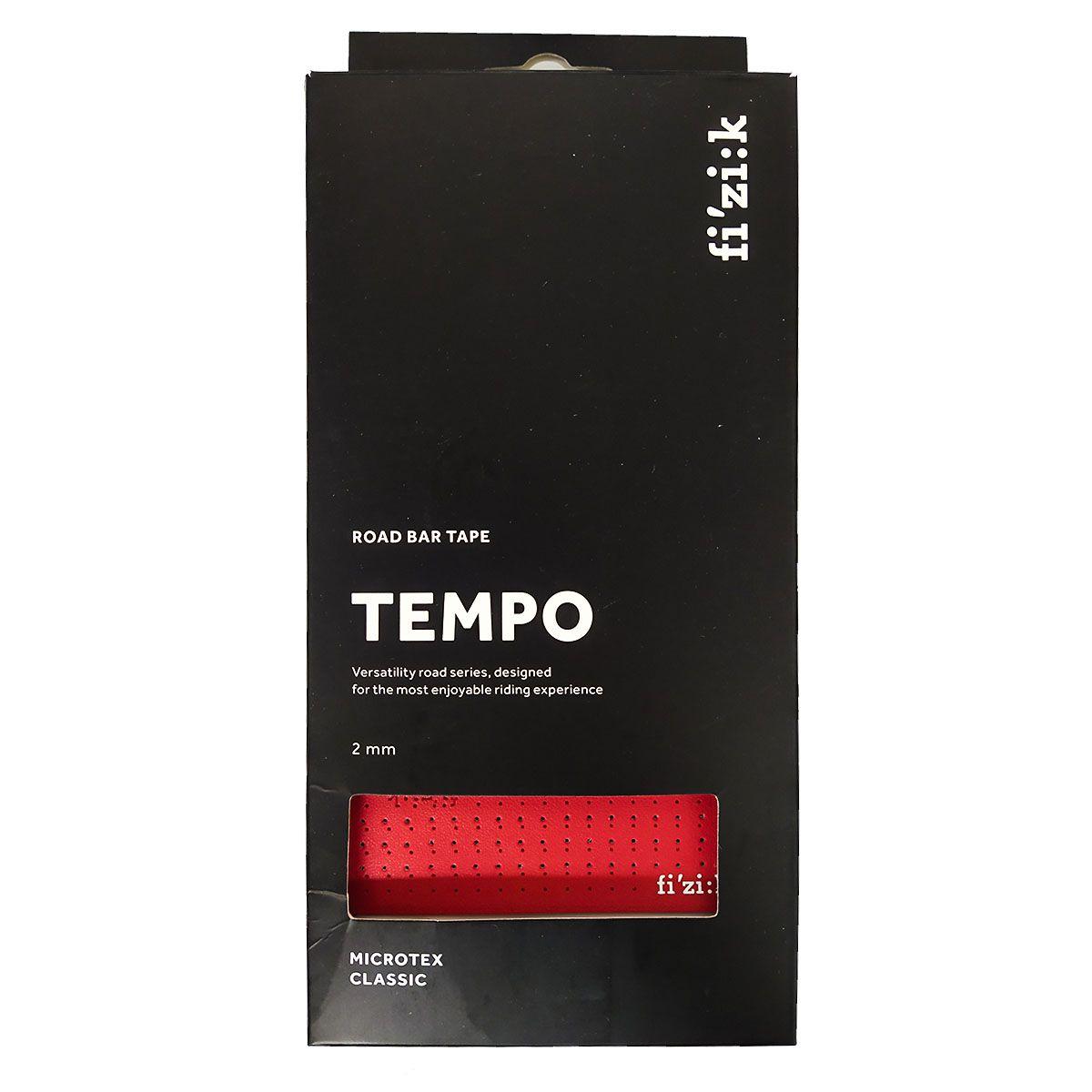 FITA DE GUIDAO FIZIK TEMPO CLASSIC VERMELHA 2MM SPEED