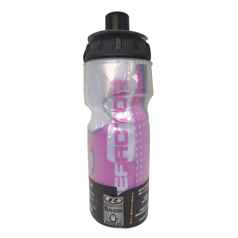 GARRAFA TERMICA REFACTOR SNOW FREE BPA (ATE 12 HORAS) ROSA 590 ML