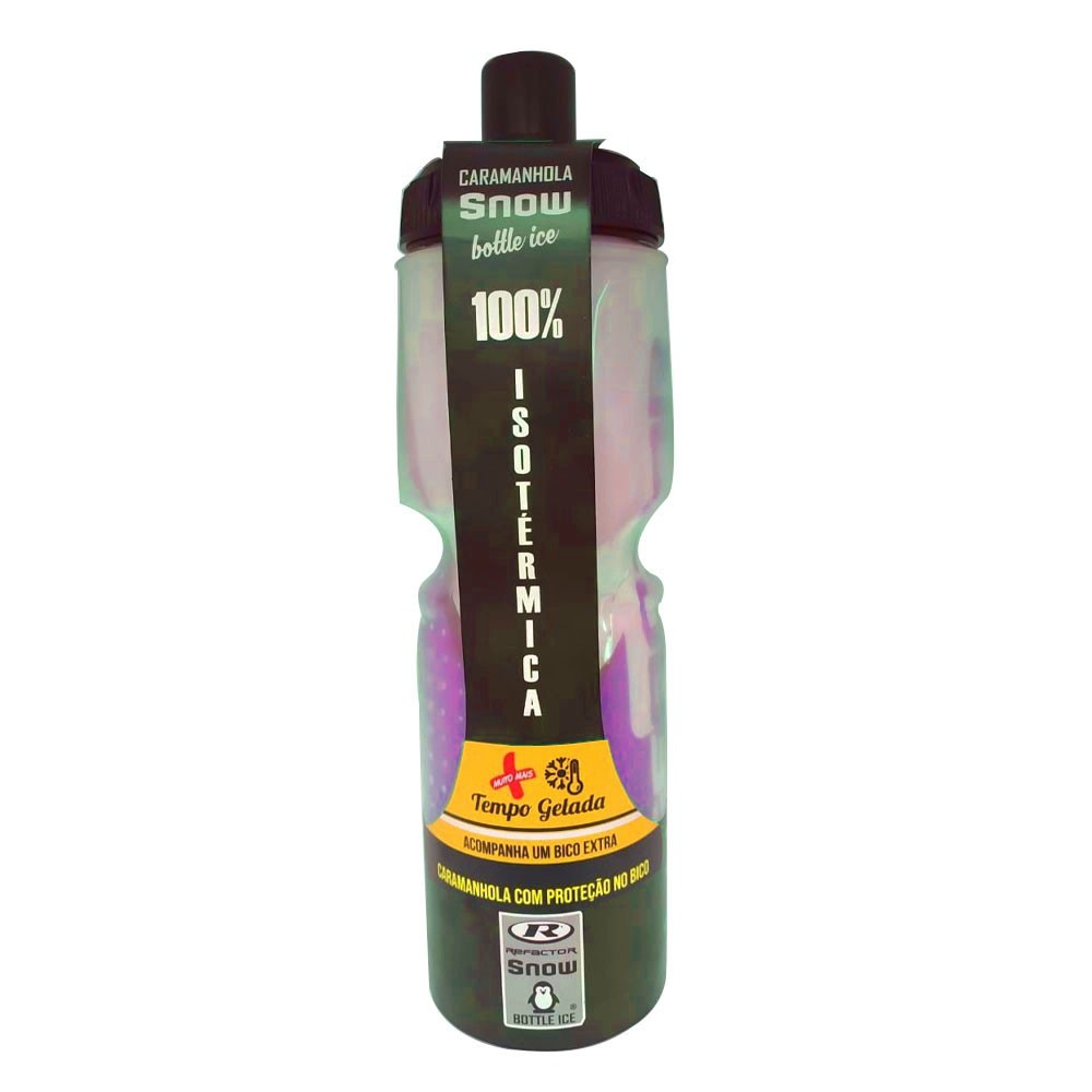 GARRAFA TERMICA REFACTOR SNOW FREE BPA (ATE 12 HORAS) ROSA 710 ML