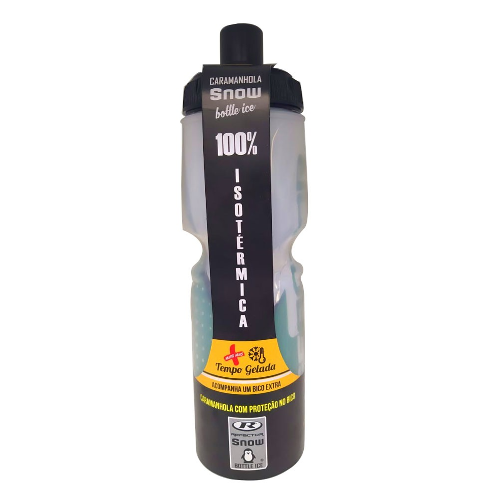 GARRAFA TERMICA REFACTOR SNOW FREE BPA (ATE 12 HORAS) VERDE 710 ML