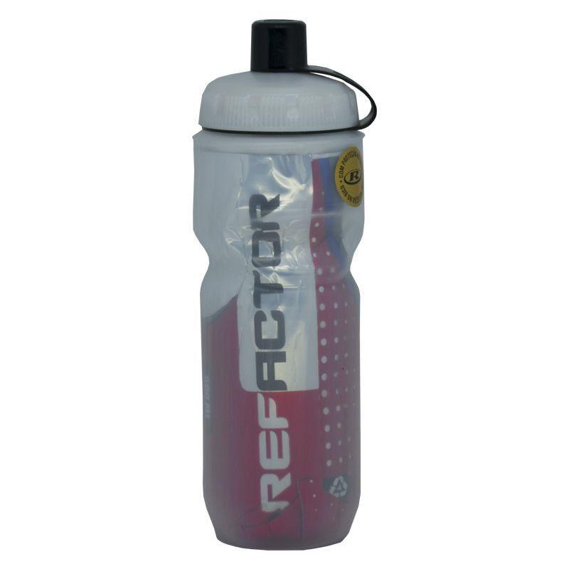 GARRAFA TERMICA REFACTOR SNOW FREE BPA (ATE 12 HORAS) VERMELHA 590 ML