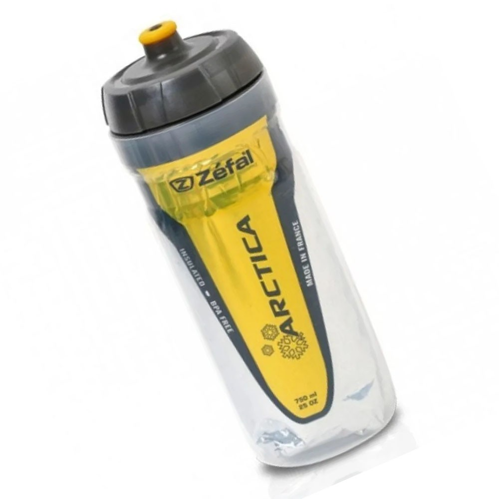 GARRAFA TERMICA ZEFAL ARCTICA FREE BPA 550ML AMARELA - ISP