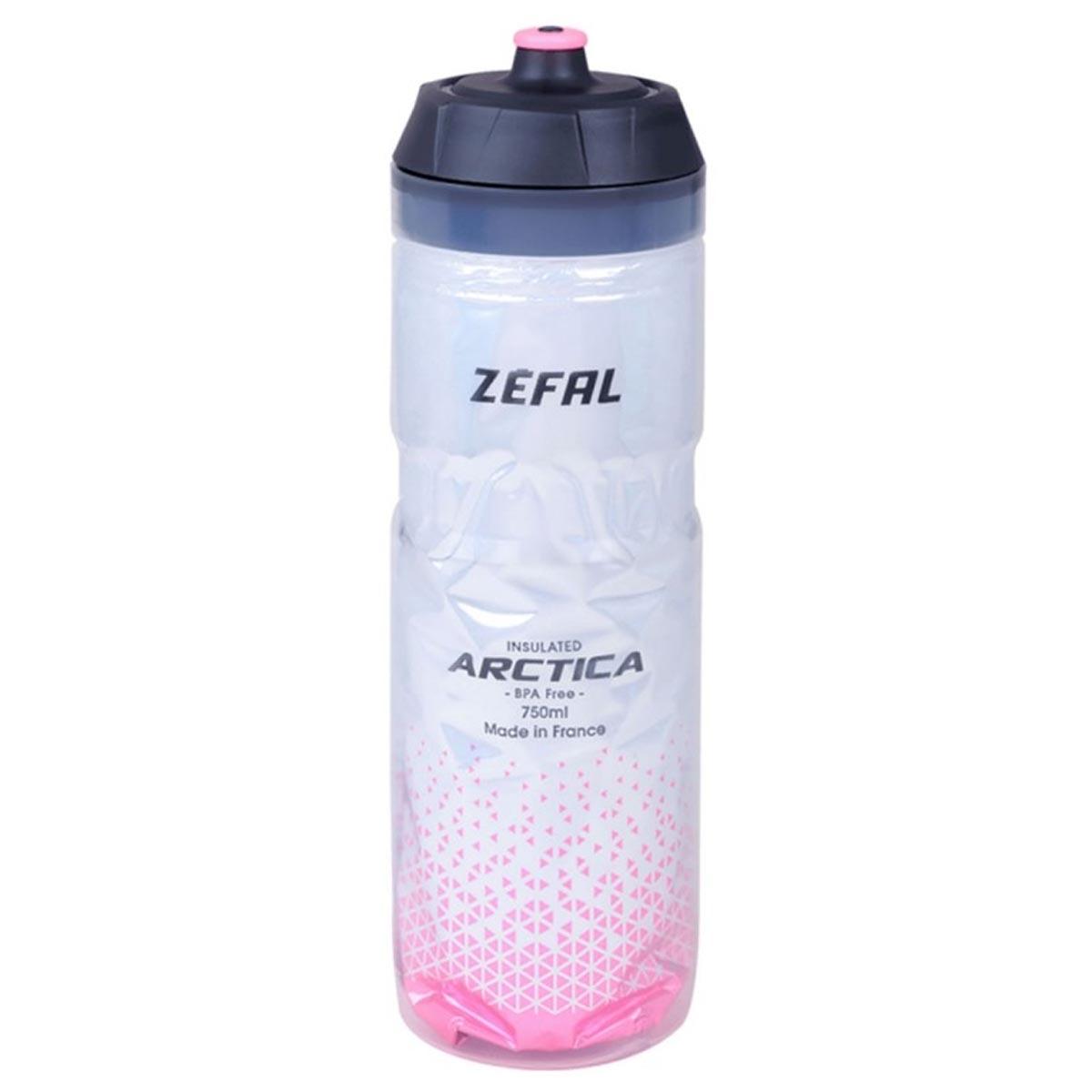 GARRAFA TERMICA ZEFAL ARCTICA FREE BPA 750ML ROSA - ISP
