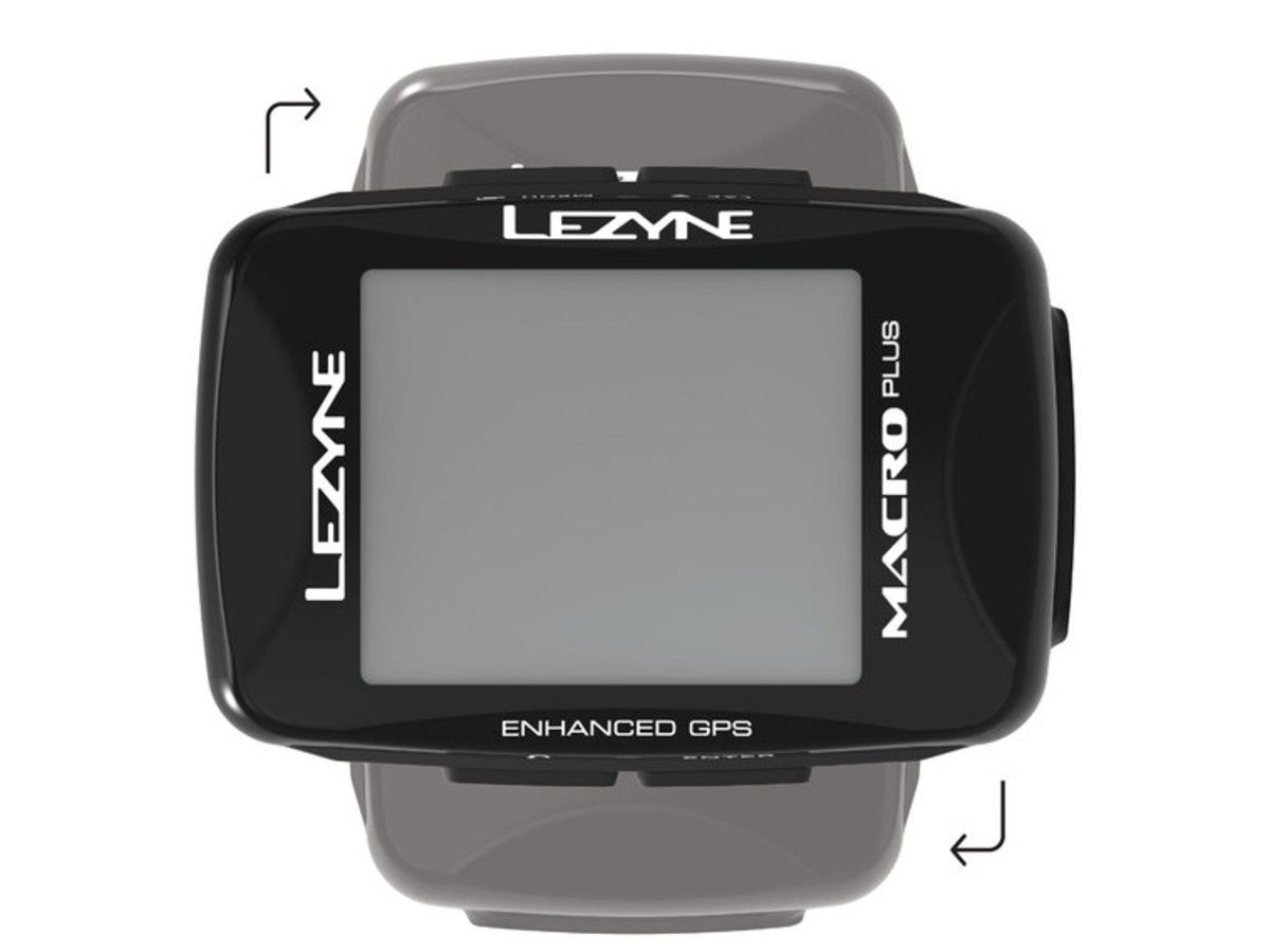 GPS LEZYNE MACRO PLUS CICLOCOMPUTADOR V204 PRETO