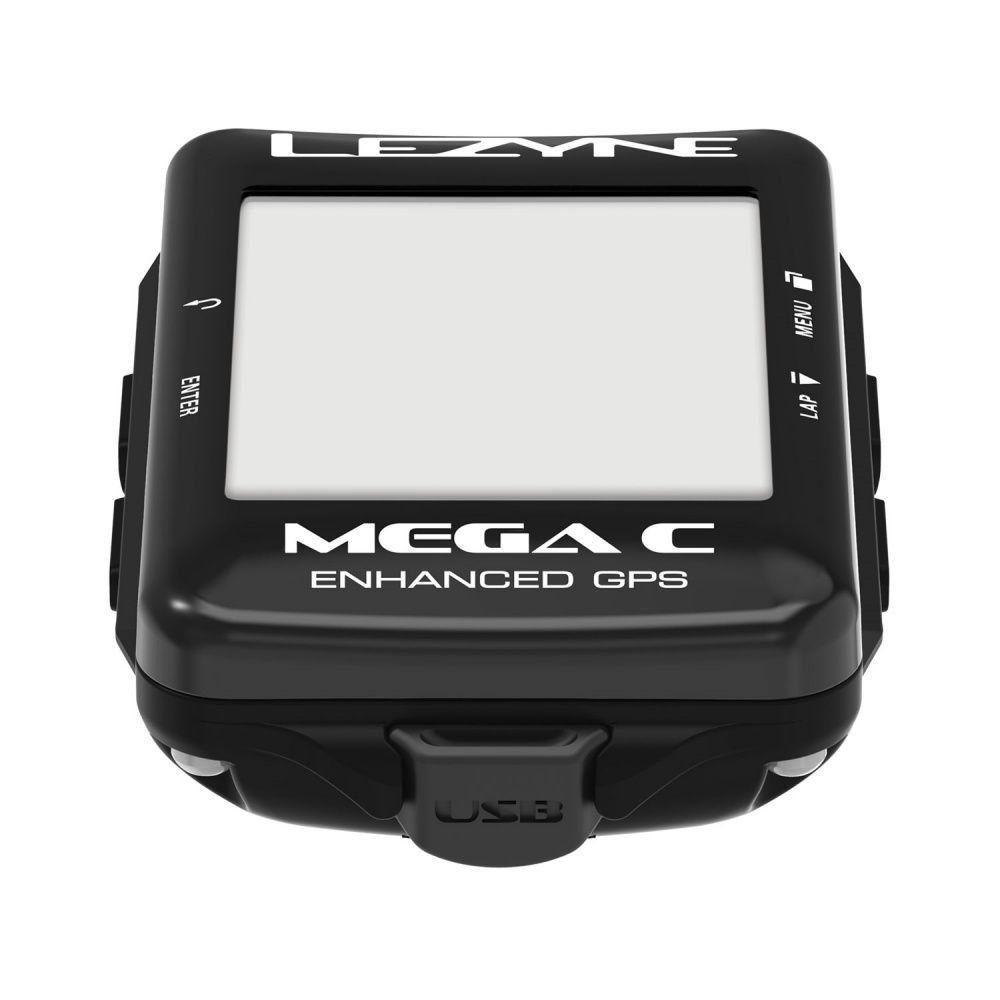 GPS LEZYNE MEGA C COLORIDO CICLOCOMPUTADOR V106 PRETO