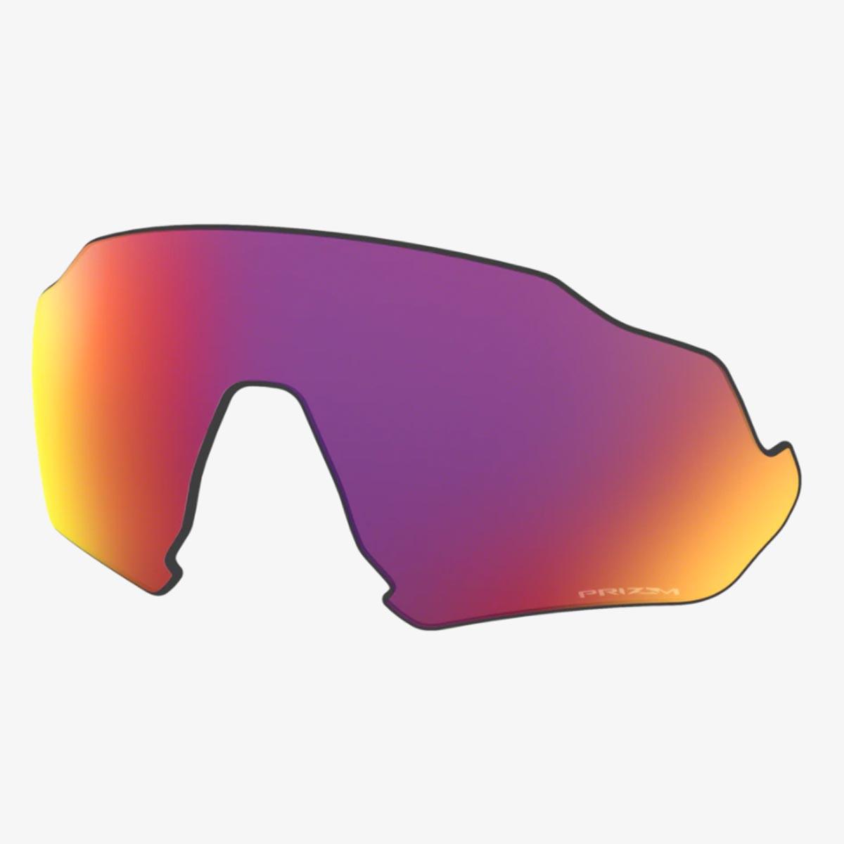Lente Extra Para Oculos Oakley Flight Jacket Prizm Road Espelhada Vermelha