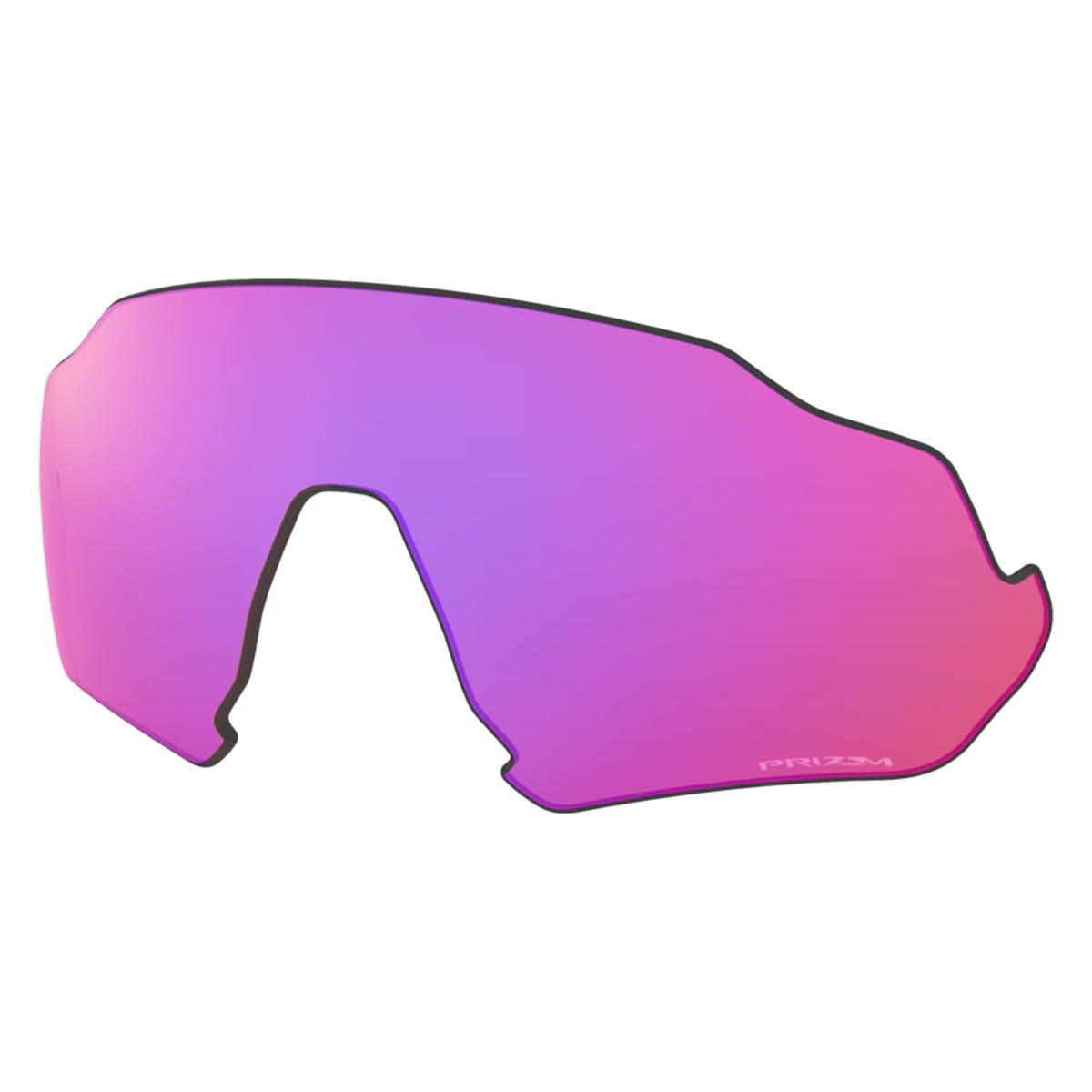 Lente Extra Para Oculos Oakley Flight Jacket Prizm Trail Espelhada Roxa