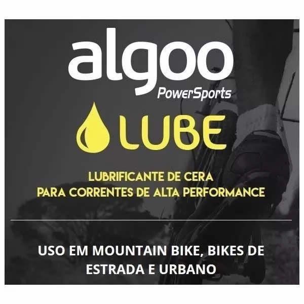 LUBRIFICANTE ALGOO LUBE CERA PARA CORRENTES DE ALTA PERFORMANCE 200 ML - ISP