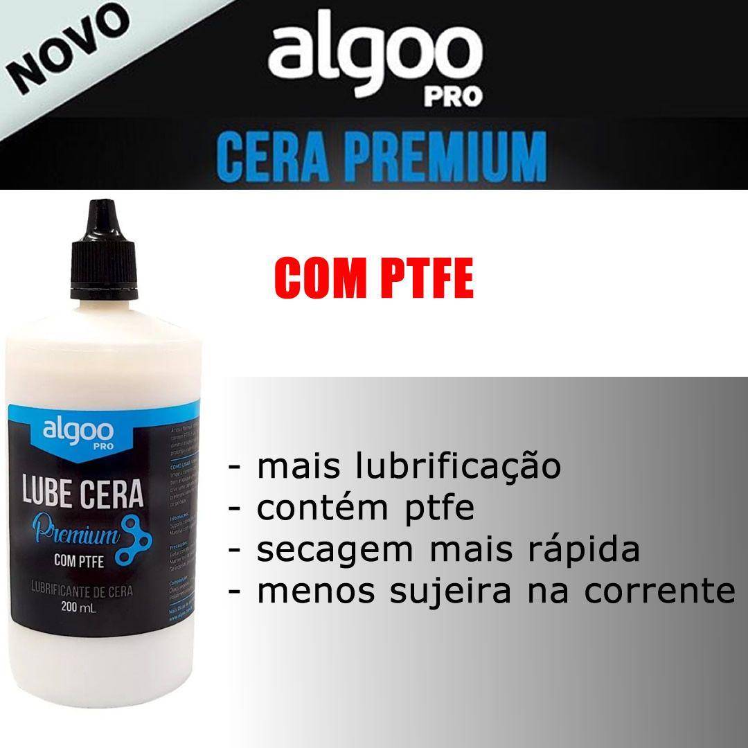 LUBRIFICANTE ALGOO LUBE CERA PREMIUM COM PTFE 200 ML - ISP